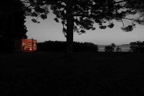 Tea pavilion, architettura della tranquillità di o9 architecture