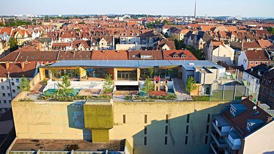 Wolke10 asilo a Norimberga dello studio querwärts