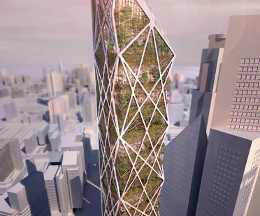 Mostra Garden City Mega City con WOHA