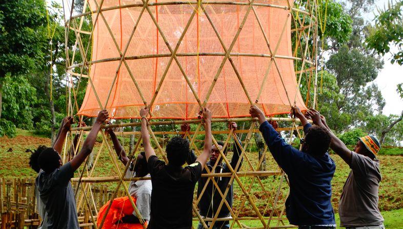 Warka Water per catturare l'acqua in maniera sostenibile