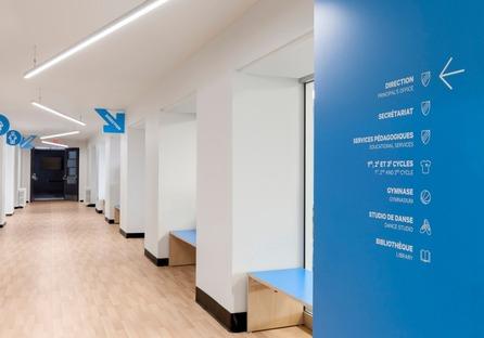Sainte-Anne Academy di Taktik Design, Canada