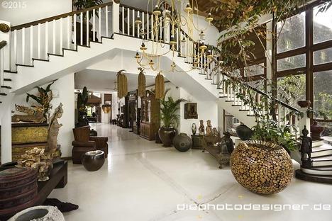 Mangosteen Mansion di Patrick Robert, Yangon.
