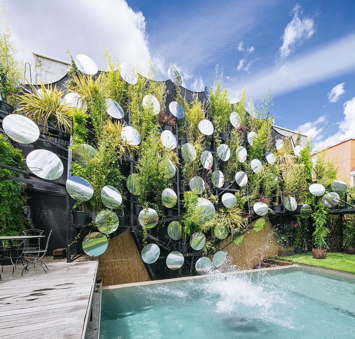 Splash o una soluzione verde a madrid livegreenblog - Giardino verticale madrid ...