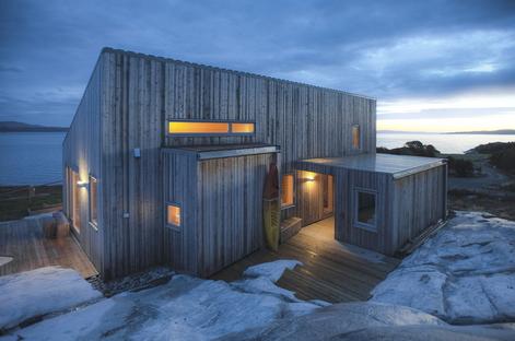 TYIN Tegnestue, K21 Skardsøya, casetta sostenibile in Norvegia