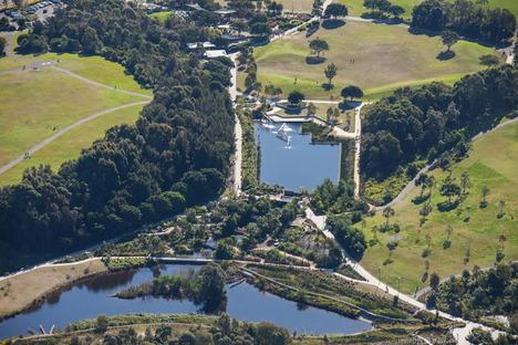 Sydney Park, un parco ambientale per l'acqua