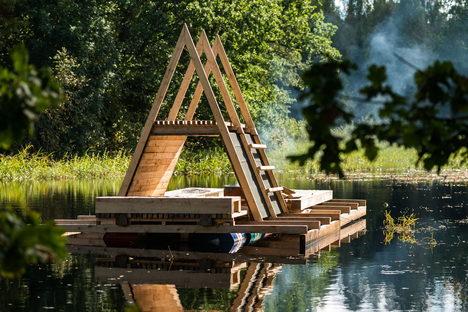 Estonia, strutture flottanti in risposta ad esigenze ambientali