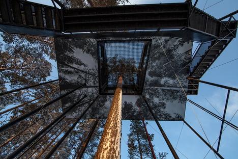 Ampliamento del Treehotel in Svezia, 7th room di Snøhetta