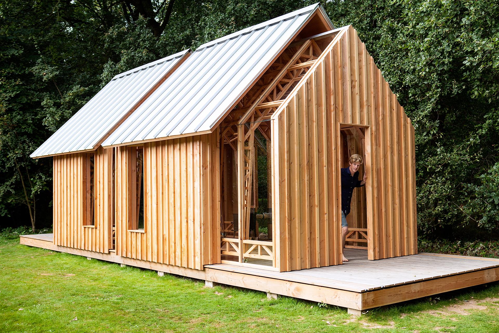 Giardino Di Una Casa una casa in giardino di caspar schols   livegreenblog