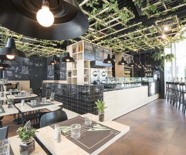 That's Vapore. Interior design firmato Alchemia Studio