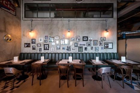 Visual Display firma BU.CO, un ristorante a Udine