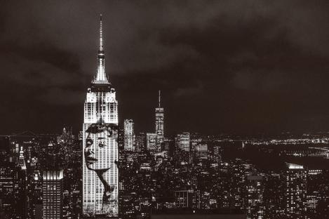 Fashion Photography sulla skyline di New York