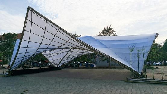 Hyperbamboo, un landmark sostenibile al CAMBOO Festival