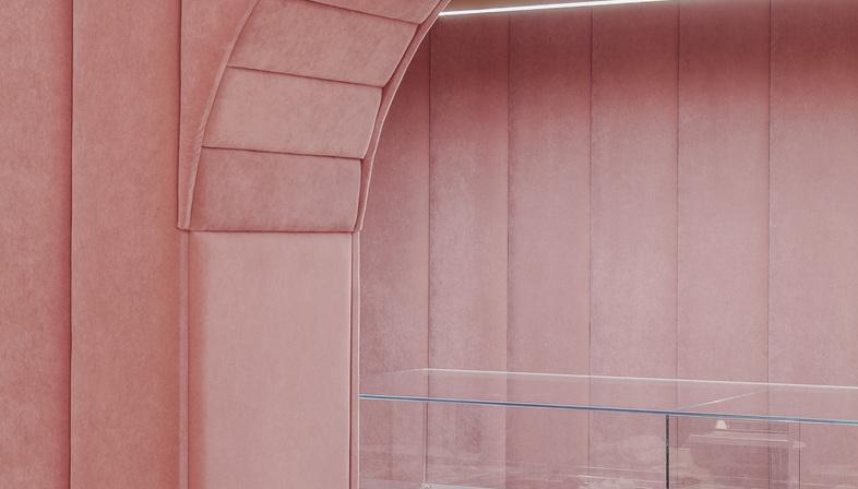 Nanan, un sogno in Millennial Pink di BUCKSTUDIO
