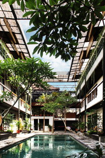 Roam, co-living e co-working a Bali di Alexis Dornier