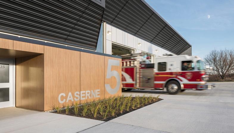 Fire Station di STGM e CCM2 in Quebec