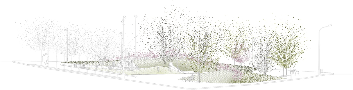 peris+toral arquitectes e la riorganizzazione green a Badalona