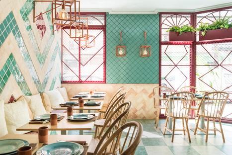 Albabel Restaurant, interior design di Masquespacio