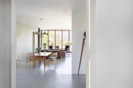 Dialogo con il paesaggio in un'ampliamento dello studio derksen|windt