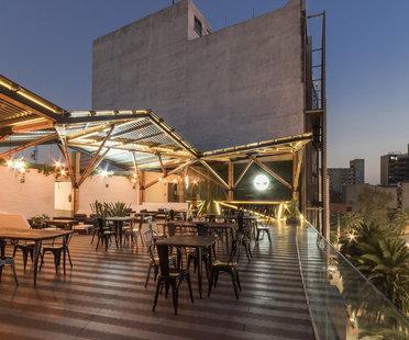 Terrazza Timberland a Città del Messico