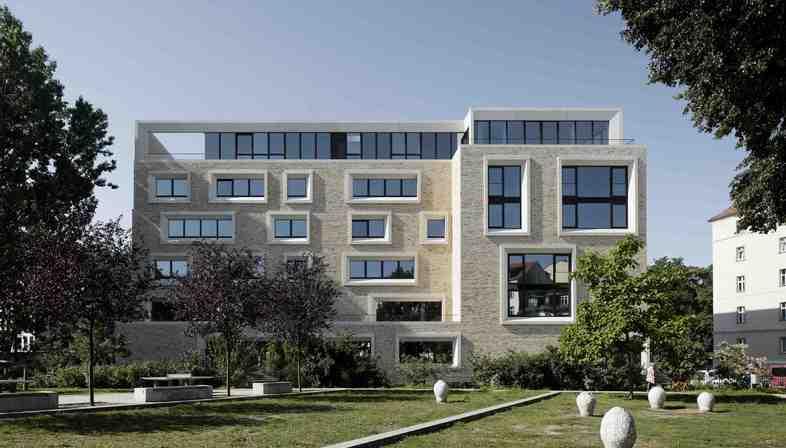 Edificio sostenibile di Tchoban Voss Architekten