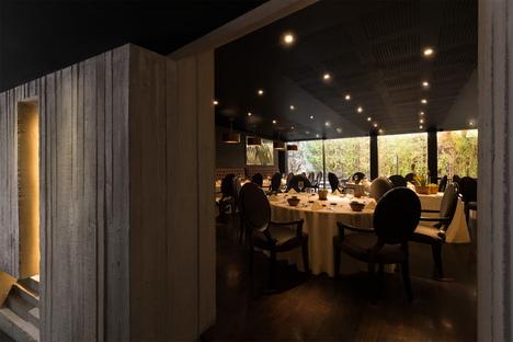 Anagrama per il ristorante Montelena in Messico