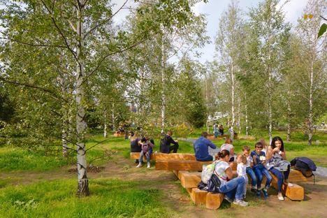 Zaryadye Park, Wild Urbanism a Mosca