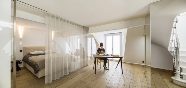 AAVP, due appartamenti a Parigi