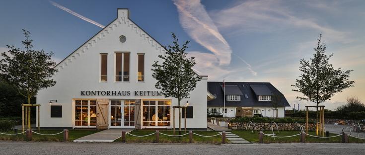 Kontorhaus Keitum, una trilogia architettonica