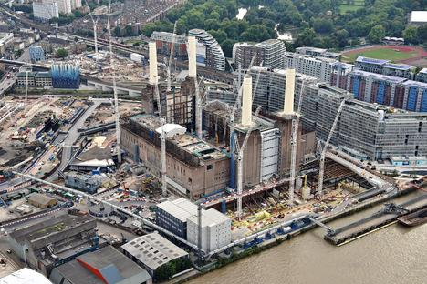 Fotografie inedite del Battersea Embankment Development, Londra