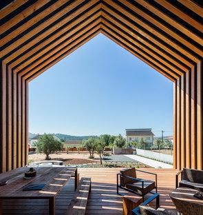 Forme archetipiche per Casa Ourém di Filipe Saraiva