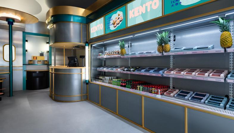 Kento, un interior fusion di Masquespacio a Valencia