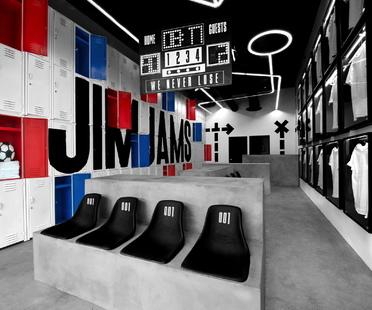 JimJams, spazio e concept di Anagrama