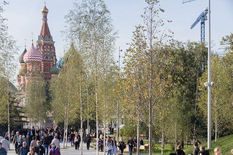 Mosca, grande successo del Zaryadye Park