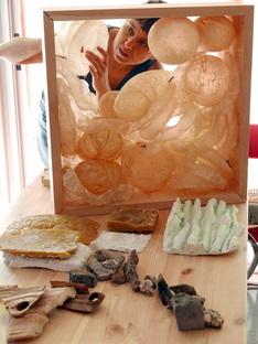 Installazione di Susana Velasco al MUSAC