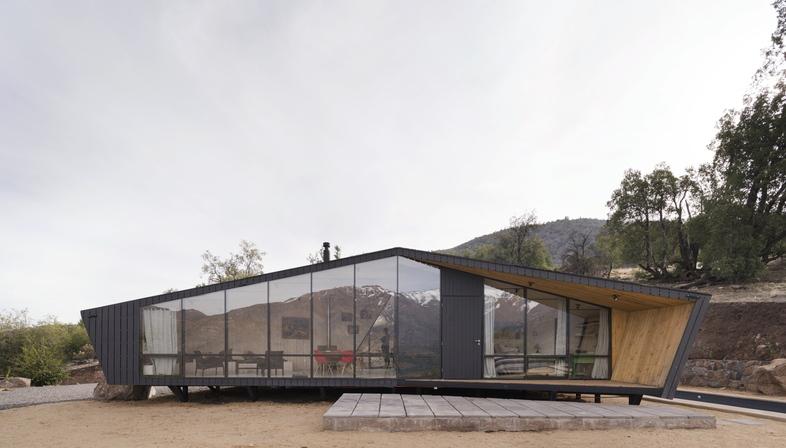 Un rifugio nelle Ande di IA Architects
