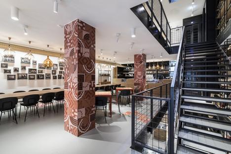 Roland Baldi Architects firma italia&amore a Bolzano
