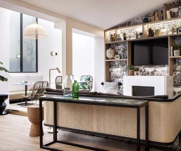 Hotel Doisy a Paris con gli interni di BR Design Intérieur
