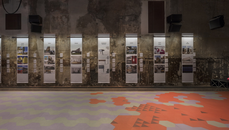 Mostra collettiva di giovani architetti francesi 16/40