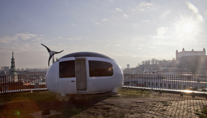 Ecocapsule, micro-casa mobile e autosostenibile