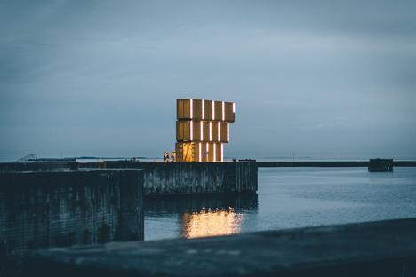 Recycling sportivo: Water Sports Center Halsskov di Sweco Architects