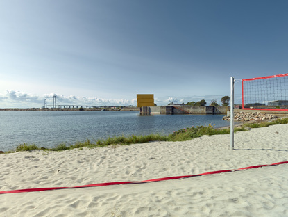 Recycling sportivo: Water Sports Center Halsskov di Sweco Architects