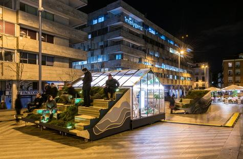 Uno studio di design itinerante a Madrid