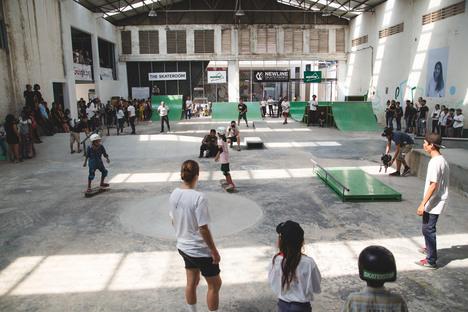 Skateistan, nuova Skate School a Phnom Penh