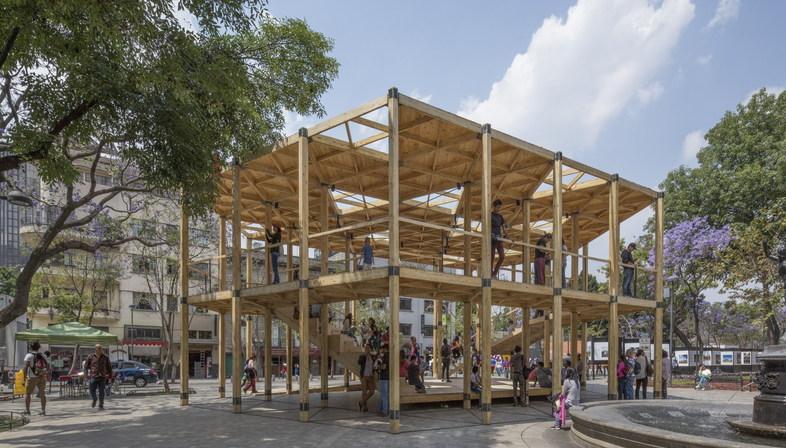 MEXTRÓPOLI grande forum dell'architettura a Messico City