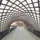 """Biennale di Venezia, la Multihalle di Frei Otto a """"Freespace"""""""