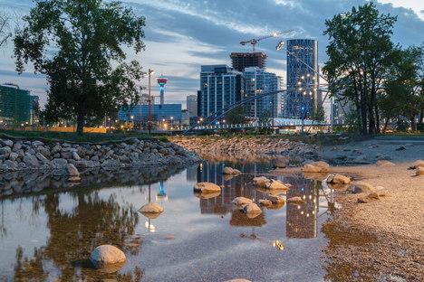Nuova vita per il St. Patrick's Island Park, Calgary