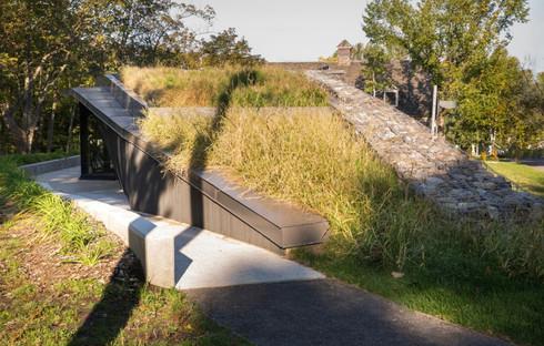 Landscape Pavilion di Anne Carrier architecture