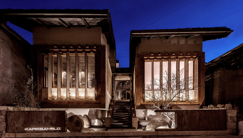 Karesansui, albergo nello Yunnan di Yiduan Shanghai Interior Design