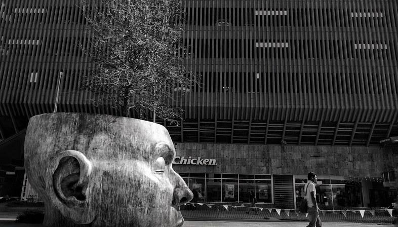Lo spazio pubblico tra Messico ed El Salvador, mostra fotografica di René Valencia