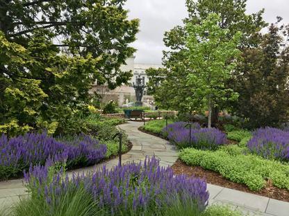 Bartholdi Park a Washington DC riceve il certificato SITES Gold